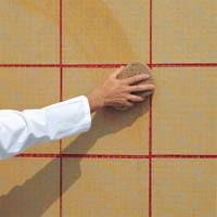 Укладка мозаики на бумажной основе