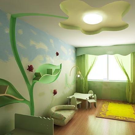Натяжные потолки фото для ребенка