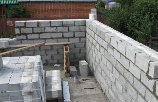 Construction of a garage with a basement