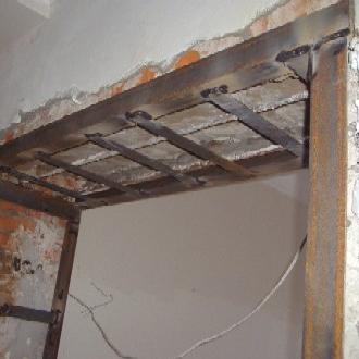 Можно ли сделать полки на не несущую стену