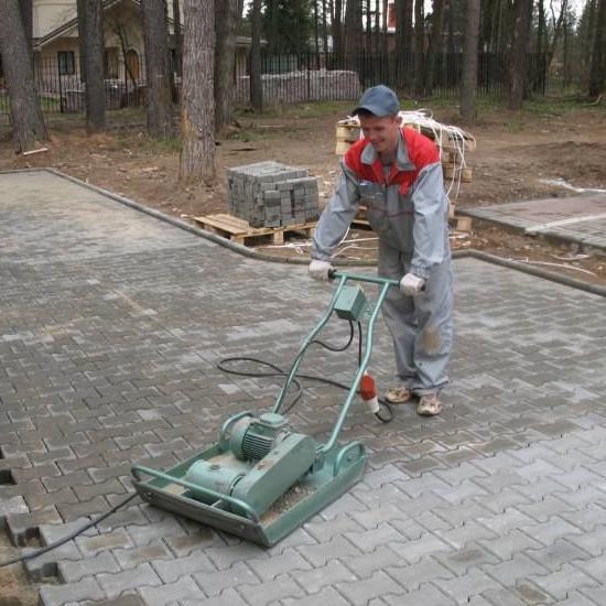 Трамбовка бетона своими руками 89