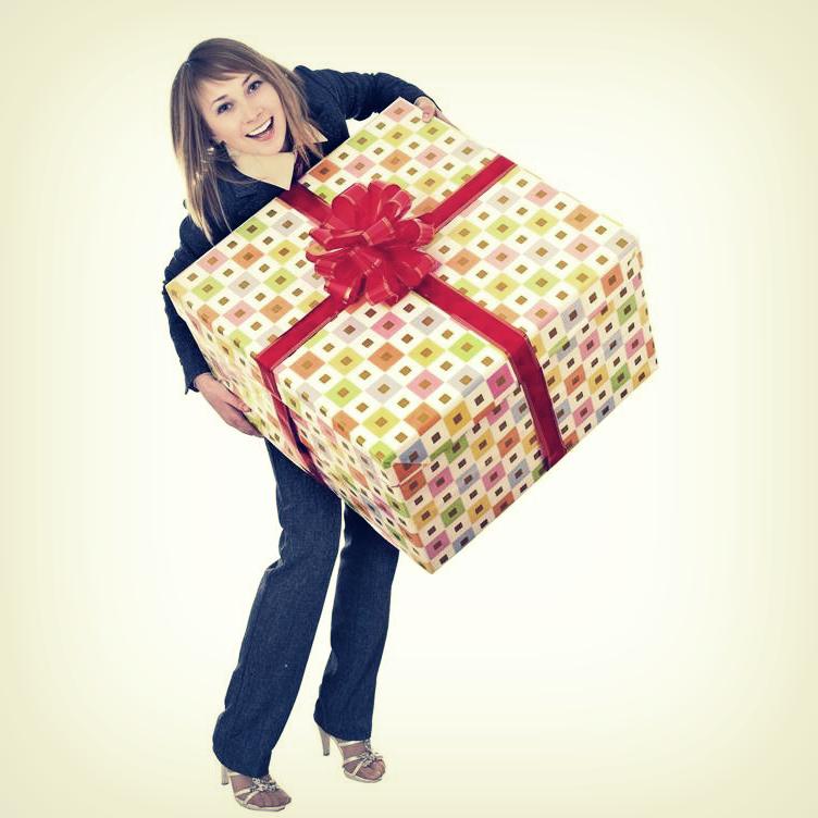 Как делать подарки The Village 31