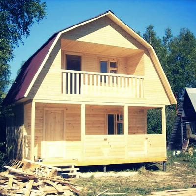 Как построить дом своими руками Ремонт на даче 20