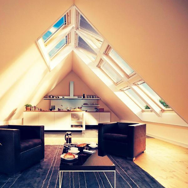 Как в мансарде жилого дома сделать