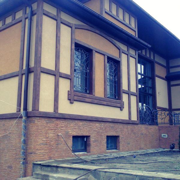 Фасад дома отделка своими руками фото